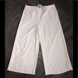 Boden cream crop Capri pants slacks new nwt 12l